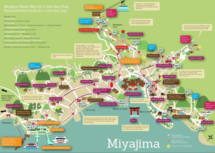 miyajima-sightseeing-map